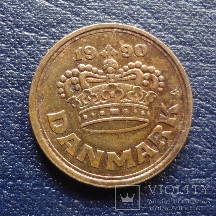 50 эре 1990  Дания     (U.5.8)~, фото №3