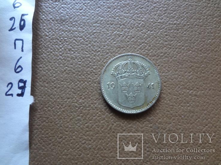10 эре 1941  Швеция серебро (П.6.30), фото №4
