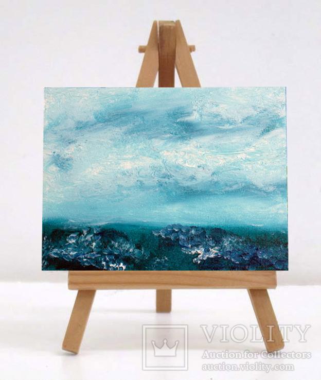 Море (масло/холст) 15х20 см