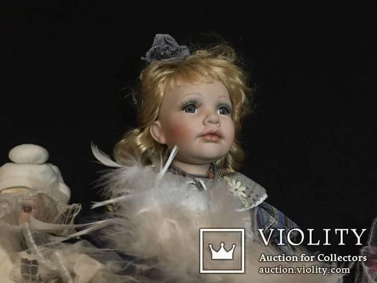 Кукла (лот фарфоровых кукол винтаж) 5 шт., фото №4