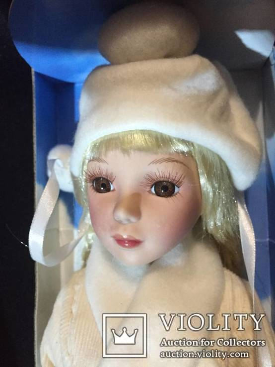Кукла (лот фарфоровых кукол винтаж) 5 шт., фото №6