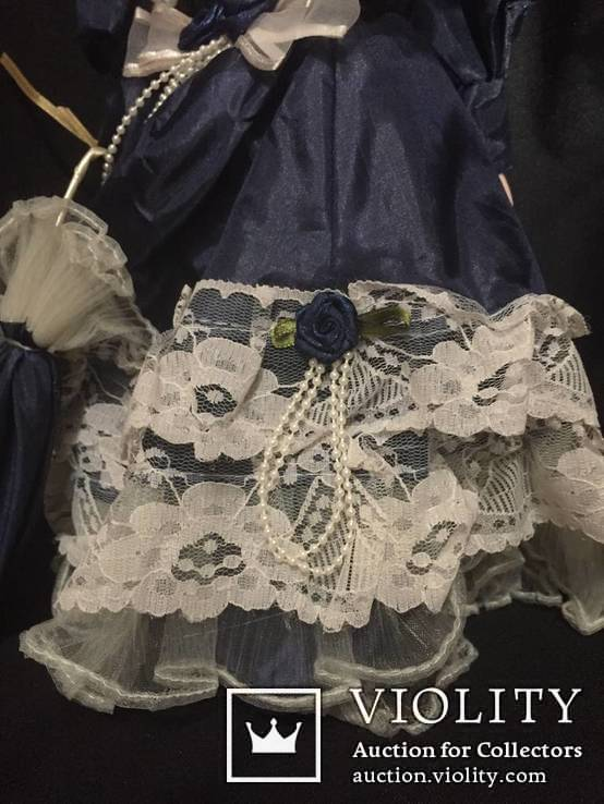 Кукла (лот фарфоровых кукол винтаж) 5 шт., фото №10