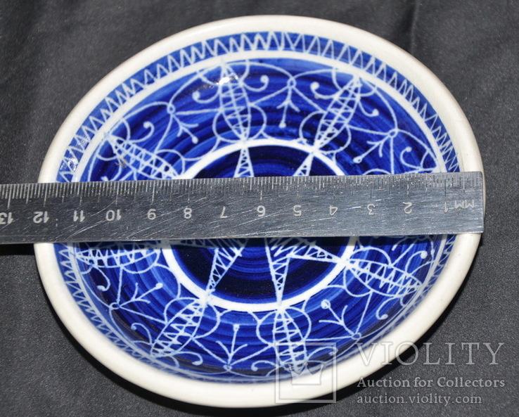 Старая тарелочка с Мальты Состояние - по фото., фото №5