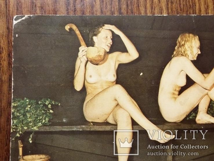 """Открытка """"Купание в бане"""", фото №7"""