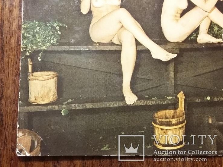 """Открытка """"Купание в бане"""", фото №10"""