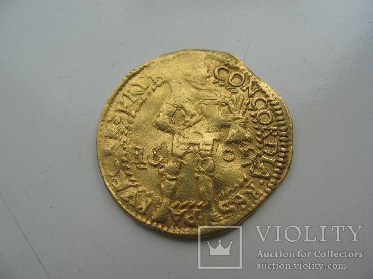 Дукат Фрисландия 1609 года, фото №3
