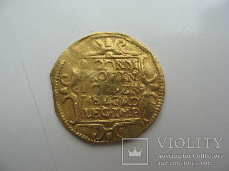 Дукат Фрисландия 1609 года, фото №4