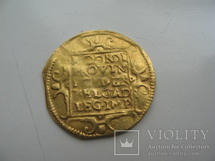 Дукат Фрисландия 1609 года, фото №5