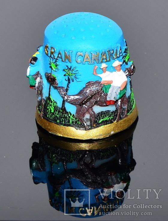 Коллекционный напёрсток Gran Canaria, фото №6