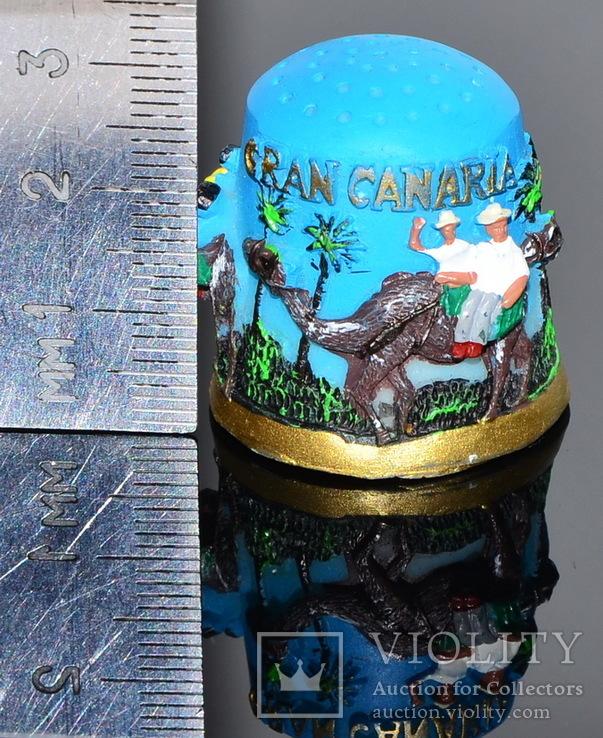 Коллекционный напёрсток Gran Canaria, фото №7