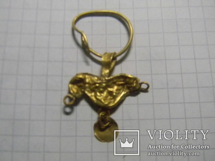 Скифская золотая подвеска, фото №3