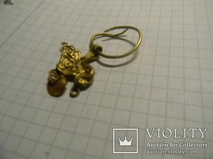 Скифская золотая подвеска, фото №7