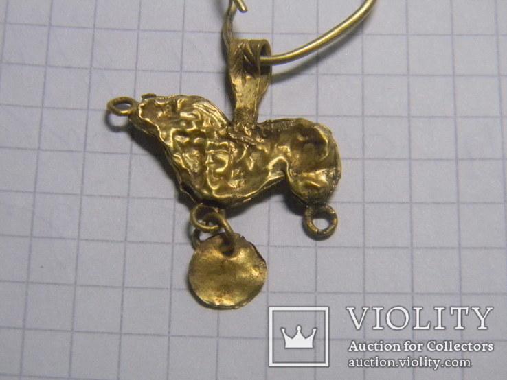 Скифская золотая подвеска, фото №8