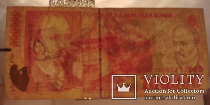 Румыния 100 000 лей 1998 г., фото №4
