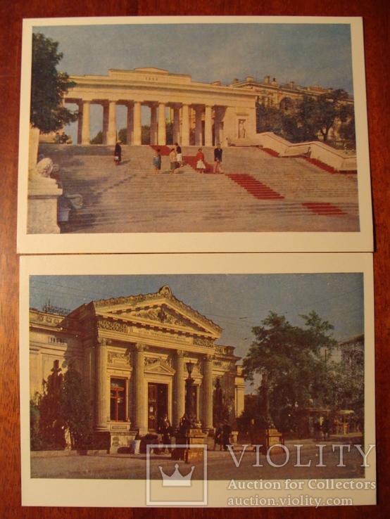 1962г. Набор открыток  поштова листівка Севастополь комплект 14 штук УССР фото Т. Бакман, фото №8