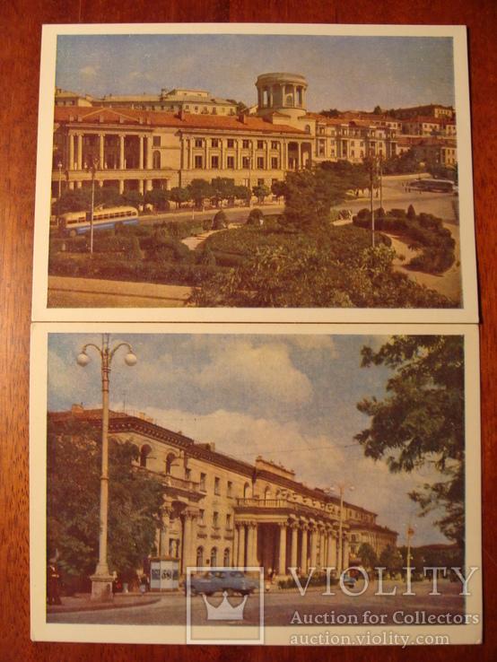 1962г. Набор открыток  поштова листівка Севастополь комплект 14 штук УССР фото Т. Бакман, фото №10