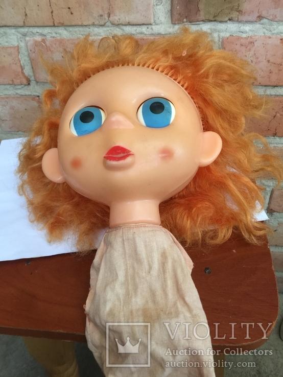 Интересная голова Кукли большая голова и глаза, фото №8