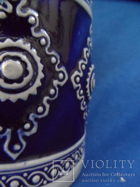 Коллекционная  пивная кружка  GERZ Германия 0,5 L, фото №4