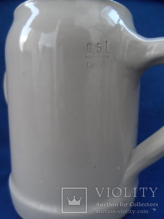 Коллекционная  пивная кружка  Германия 0,5 L, фото №4