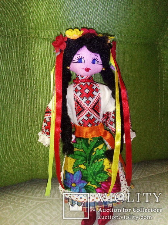 Авторская кукла ручной работы. 23 см.
