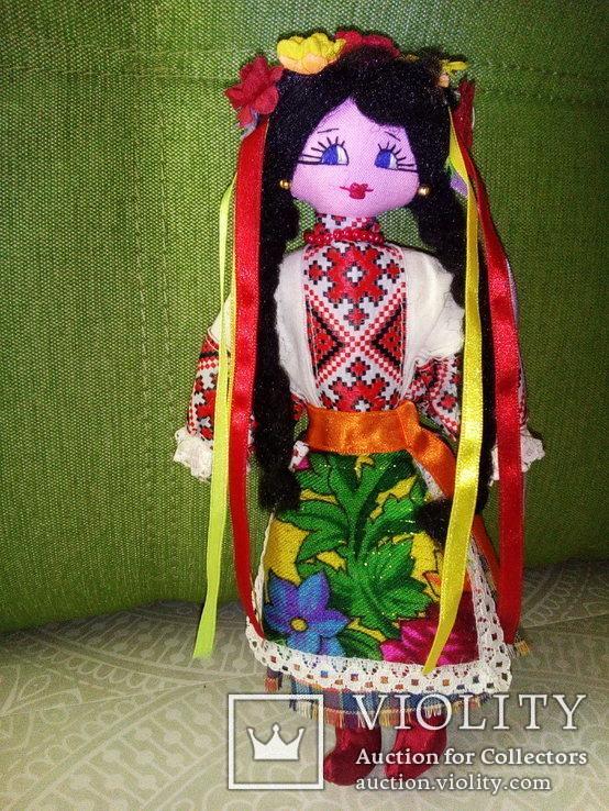 Авторская кукла ручной работы. 23 см., фото №3