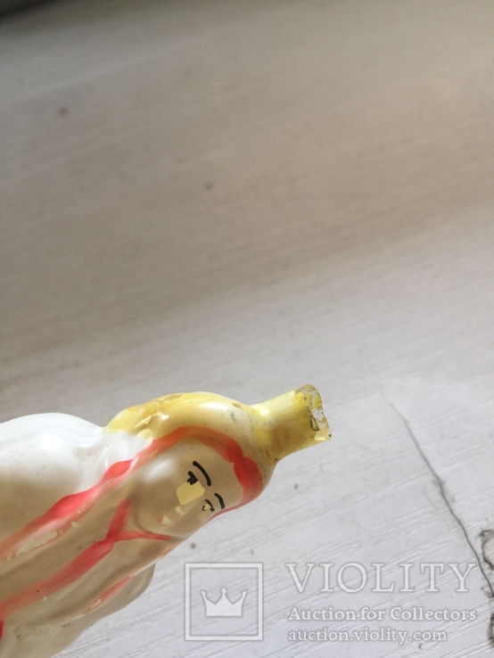 Елочная игрушка Снегурочка (на прищепке), фото №6