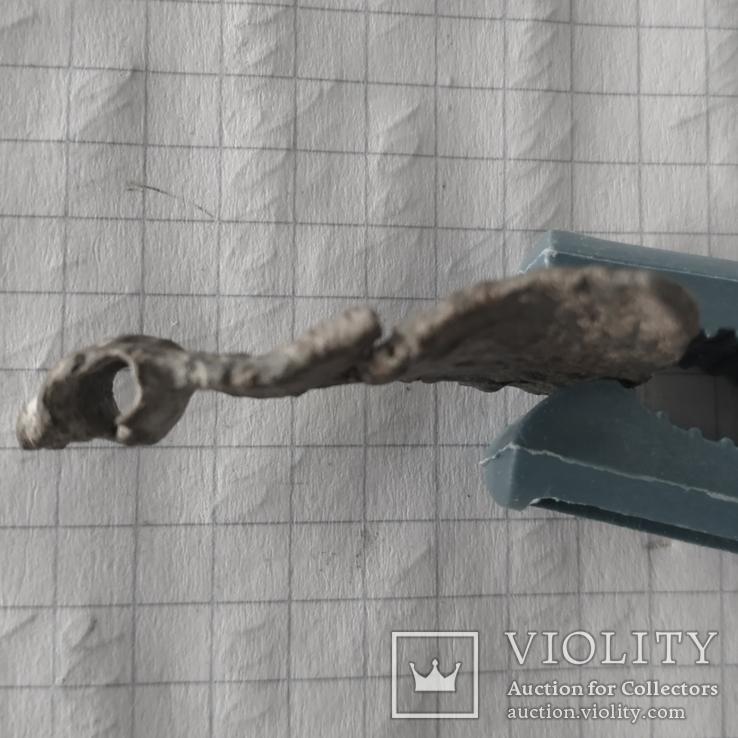 Амулет сокирка з візерунками, фото №4