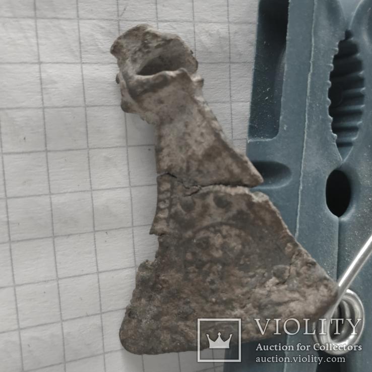 Амулет сокирка з візерунками, фото №5