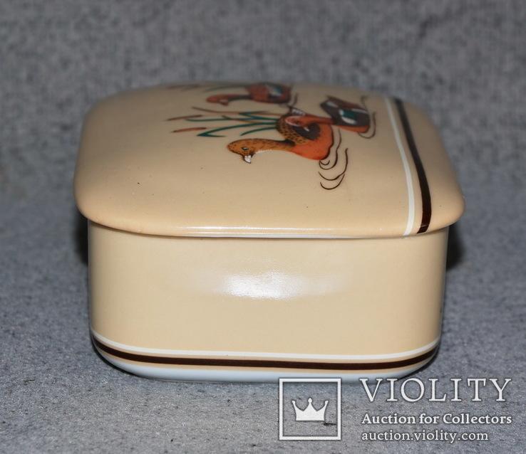 Шкатулка из Японского фарфора. Утки, фото №7