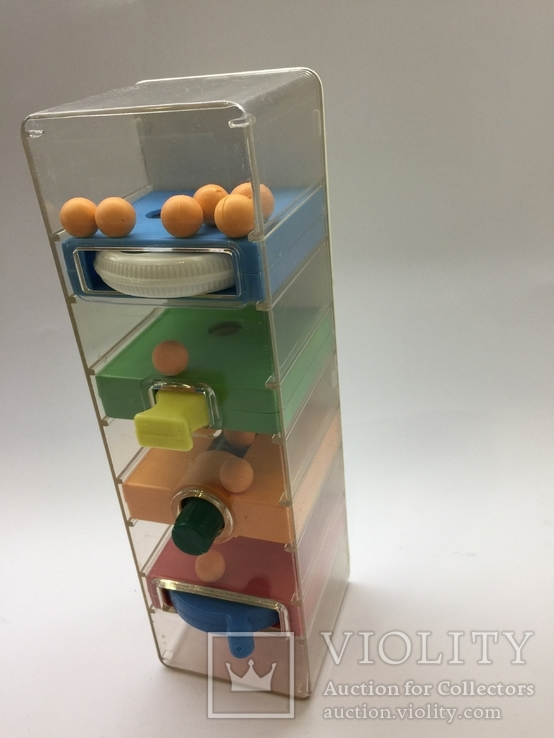 Игра головоломка перекати шарики времён СССР цена клеймо, фото №9