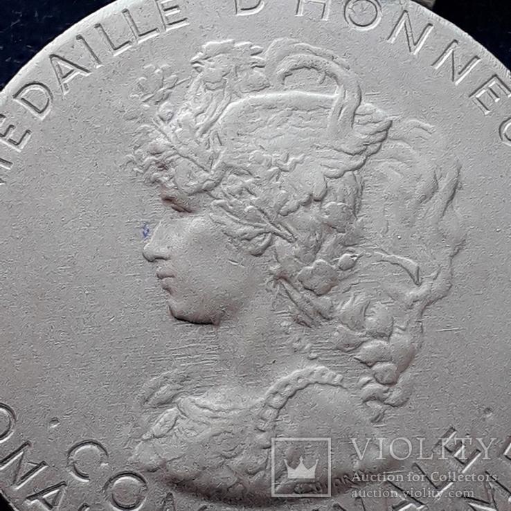 Региональная, Ведомственная, Коммунальная Почётная медаль, Франция, серебро, 20+ грамм, фото №4