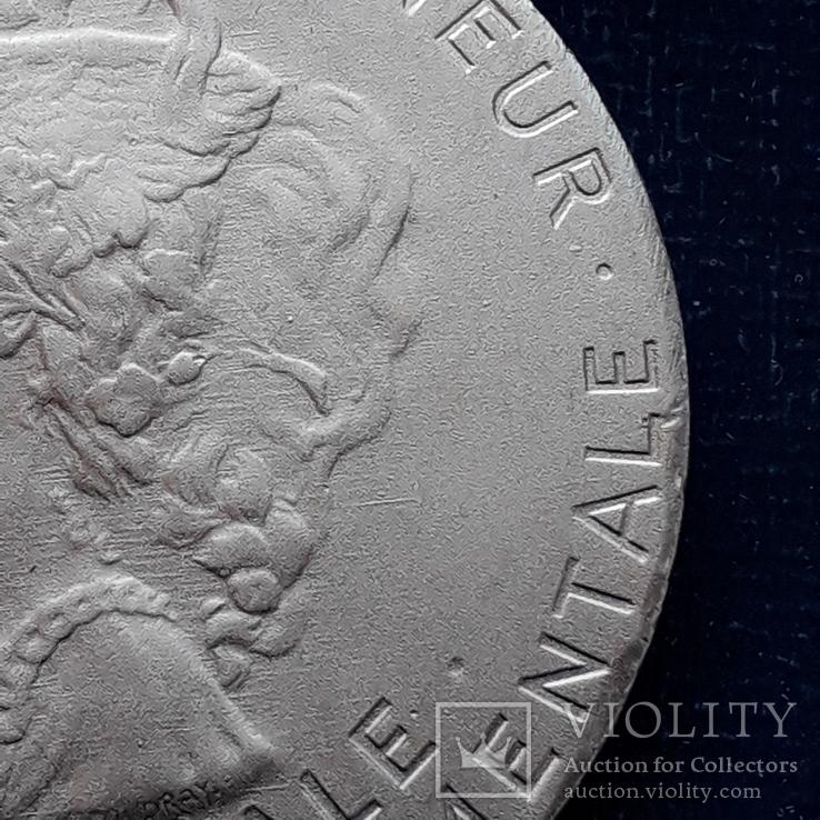 Региональная, Ведомственная, Коммунальная Почётная медаль, Франция, серебро, 20+ грамм, фото №7