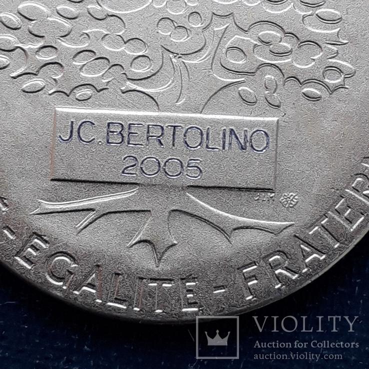 Региональная, Ведомственная, Коммунальная Почётная медаль, Франция, серебро, 20+ грамм, фото №11