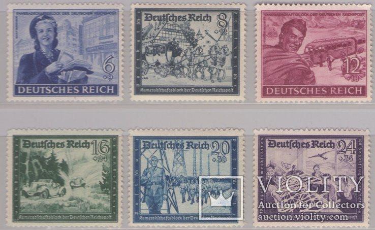 Рейх Германия Немецкое почтовое сообщение выпуск 1944 г., фото №2