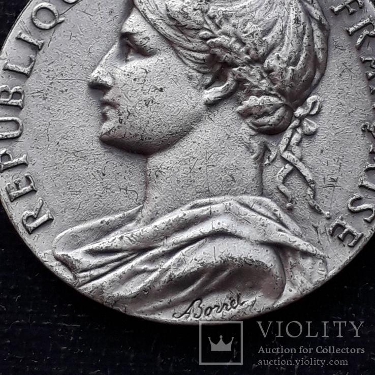 Франция, Почётная Медаль Труда, серебро, 10- грамм, фото №4