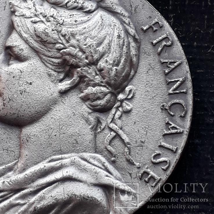 Франция, Почётная Медаль Труда, серебро, 10- грамм, фото №6