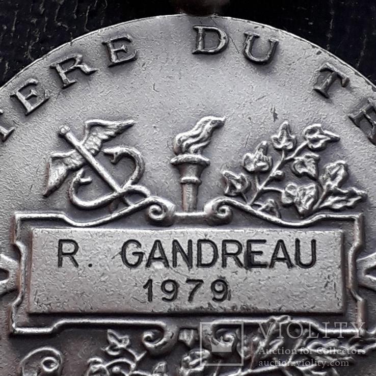 Франция, Почётная Медаль Труда, серебро, 10- грамм, фото №11