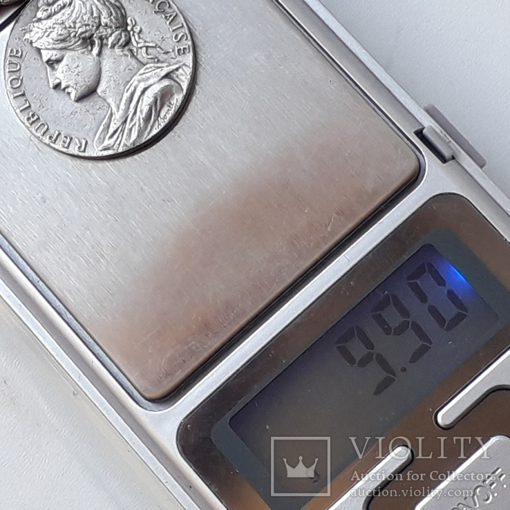 Франция, Почётная Медаль Труда, серебро, 10- грамм, фото №13