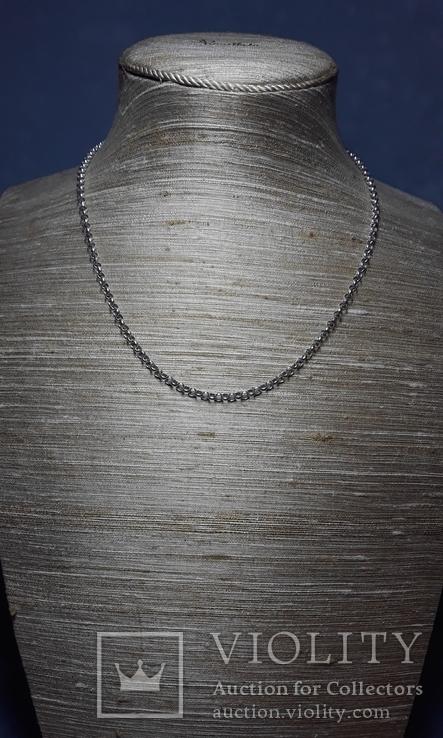 Серебряная цепочка, Англия, клейма
