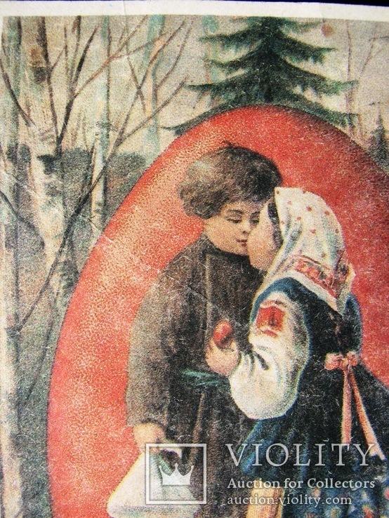 1900-е  Открытка к паске  14,5х9,5, фото №7