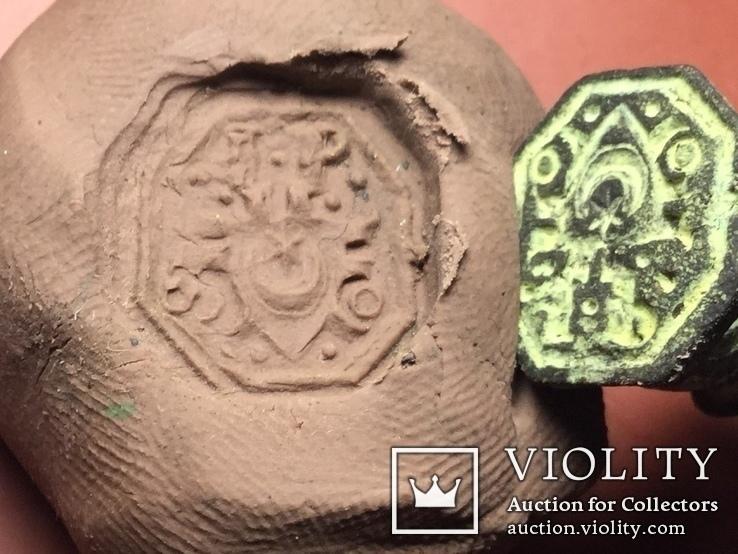 Печатка з гербом Лелiва, фото №10