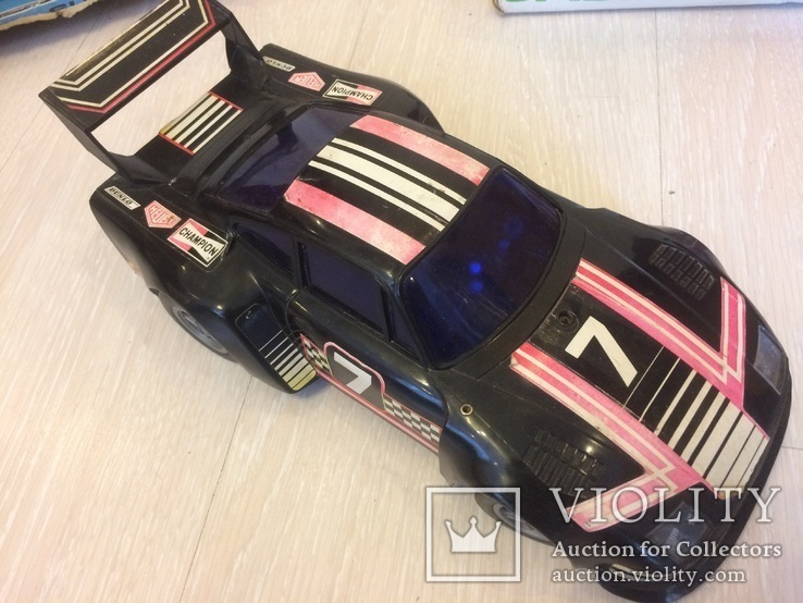 3 винтажные авто на радиоуправлении, фото №6