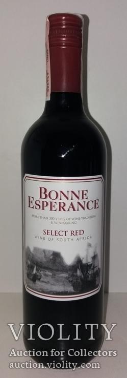Вино Bonne Esperance Select Red, Южная Африка, фото №2
