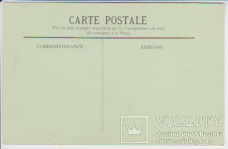 """Открытка """"92. Biarritz Artistique - La Pointe du Phare"""", фото №3"""