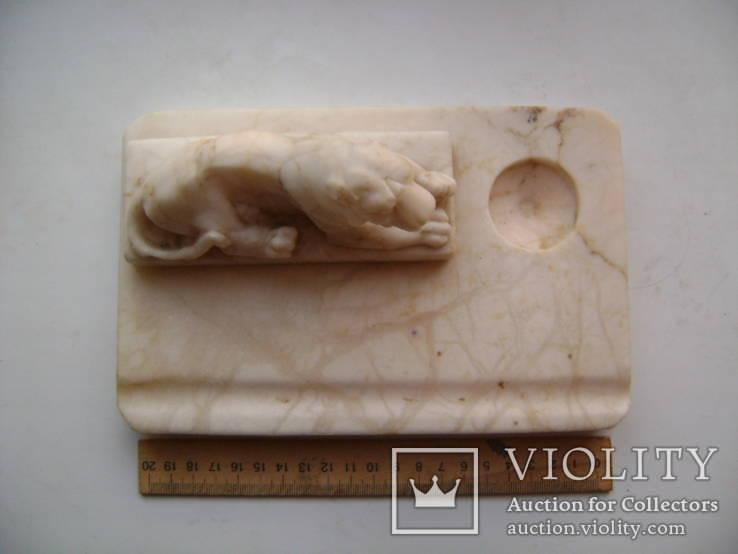 Чернильница- лев, фото №2