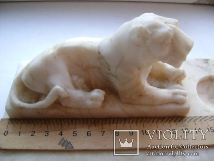 Чернильница- лев, фото №3