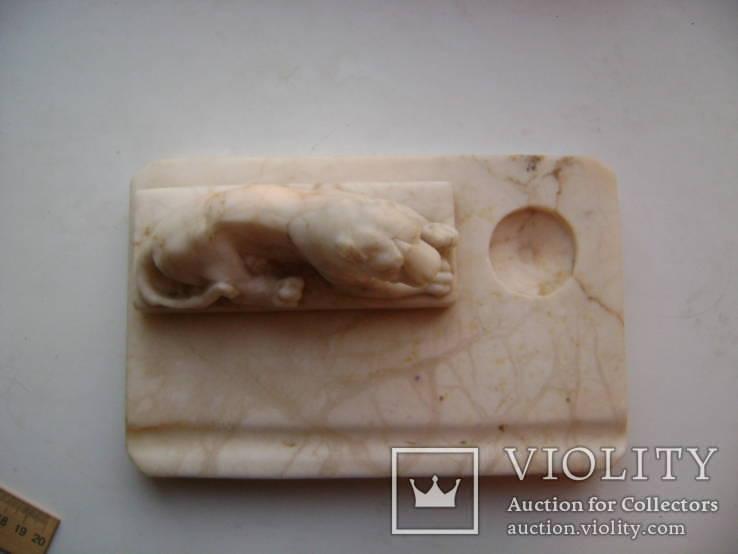 Чернильница- лев, фото №10