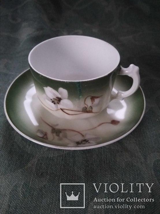 Кофейная пара Гарднер #3 - «VIOLITY» Auction & Antiques