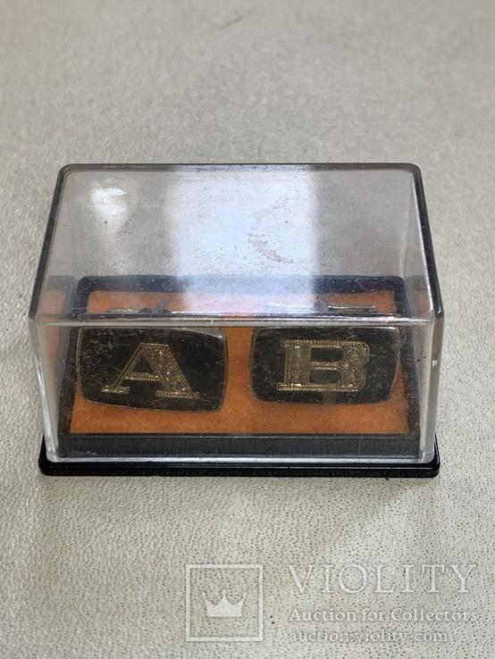 Запонки СССР в родной коробке(4), фото №4