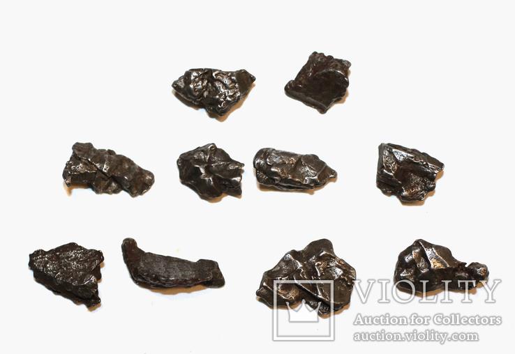 10 залізних метеоритів Campo del Cielo